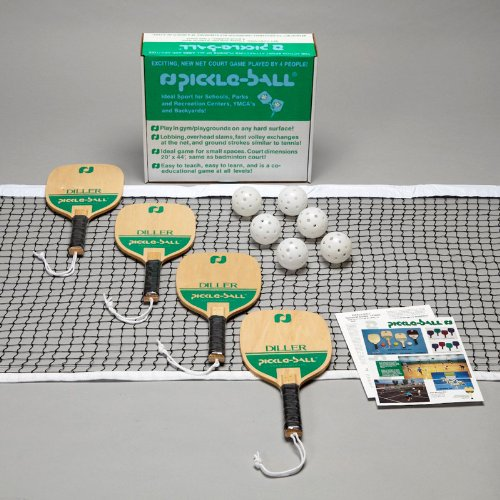 Pickle-Ball Diller Set w/out Standards - (USA) by Pickle-Ball