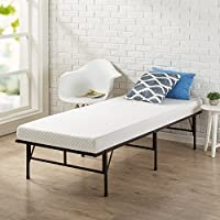 Zinus Memory Foam 4 Inch Mattress, Narrow Twin / Cot Size / RV Bunk / Guest Bed Replacement / 30' x 75'