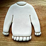 Sweet Prints Inc Christmas Sweater Cookie Cutter