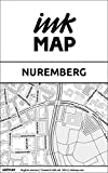 Nuremberg Inkmap - maps for eReaders, sightseeing, museums, going out, hotels (English)