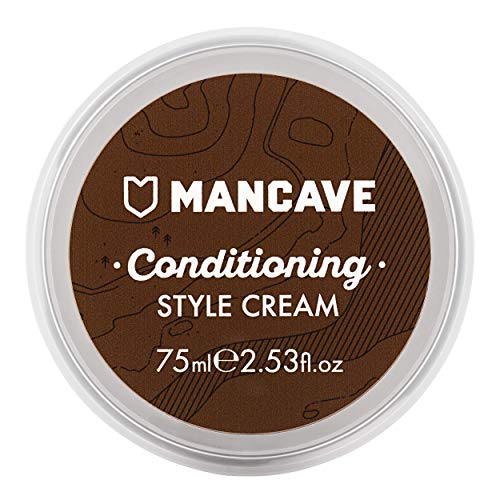 ManCave Natural Conditioning Style Cream Light Hold - Helmet Euro