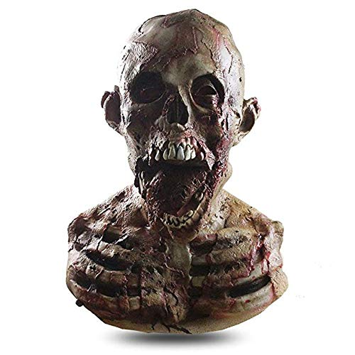 Halloween Zombie Mask,Horror Alien Mask,Creepy Scary Cosplay Costume