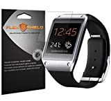 Samsung Galaxy Gear Screen Protector (5-Pack), Flex Shield Clear Screen Protector for Samsung Galaxy Gear Bubble-Free and Scratch Resistant Film