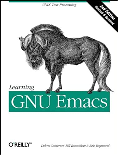 Learning gnu emacs a nutshell handbook 9781565921528 computer learning gnu emacs a nutshell handbook 2nd updated edition fandeluxe Gallery