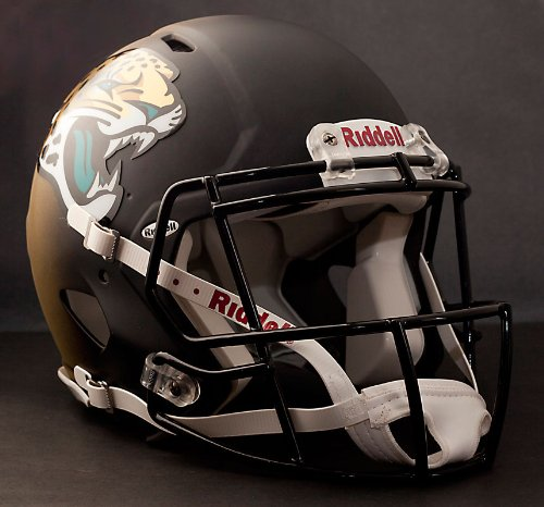 NFL Jacksonville Jaguars Speed Authentic Helmet (Jacksonville Football Jaguars Helmet)