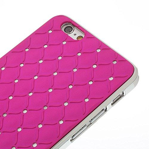 Katinkas harte Starry Sky Hülle für Apple iPhone 6 magenta