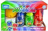 PJ Masks Bowling Set Toy Game Kids Birthday Gift Toy 6 Pins &1 Ball