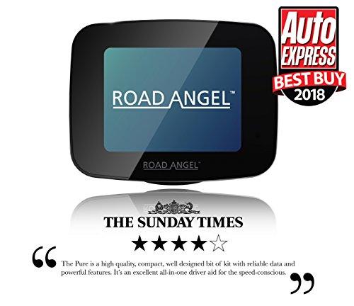 Road Angel Pure Camera Detector, Black