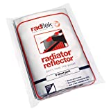Radflek Radiator Reflectors with Radstik (5 Sheets, 4 Adhesive Strips, Fits 5-10 Radiators)