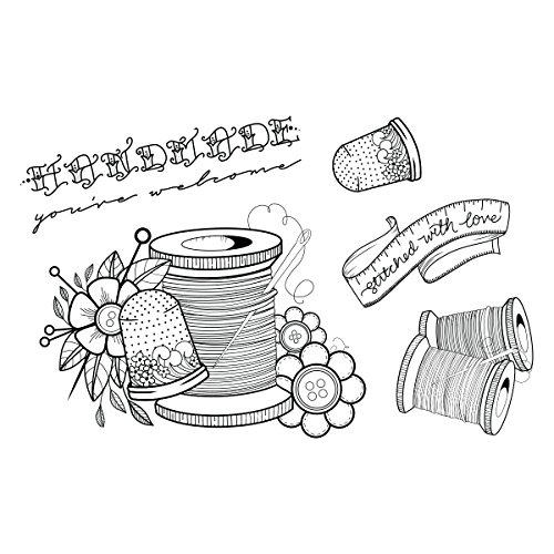 Spellbinders Sew Stamp and Die Set by Spellbinders