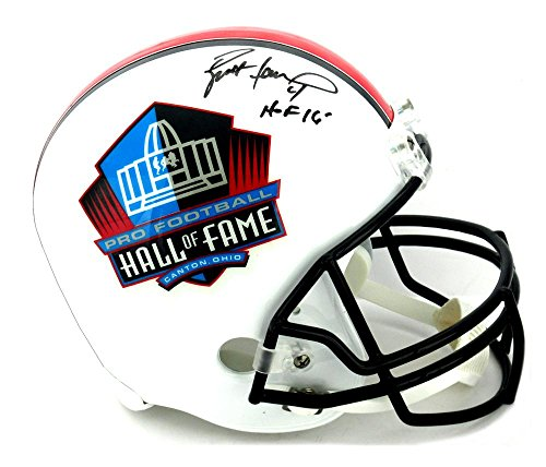 Brett Favre Autographed Helmet - Riddell Pro HOF Full Size -
