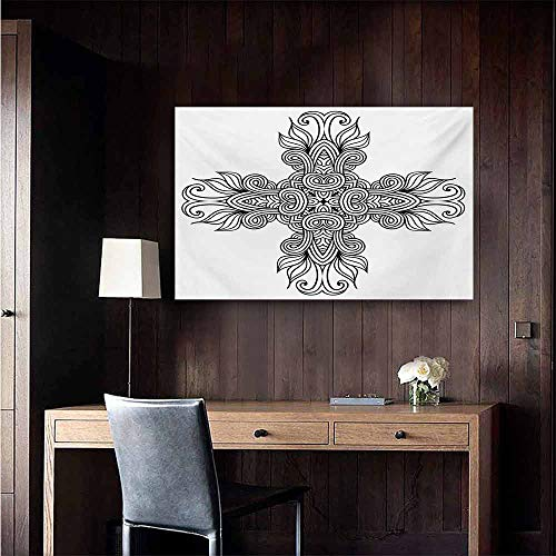 duommhome Celtic Abstract Painting Royal Old Celtic Knot Pattern with Curled Lace Leaf Figures Renaissance Times Art Natural Art 28