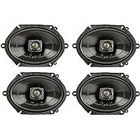 Polk 5x7 225 Watt 2-Way Car/Boat Coaxial Stereo Audio Speakers Marine (2 Pack)