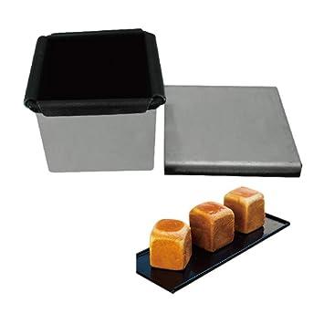 LSY Antiadherente de aluminio Mini forma cuadrada de pan tostado ...