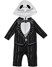 baby boys jack skellington costume coverall