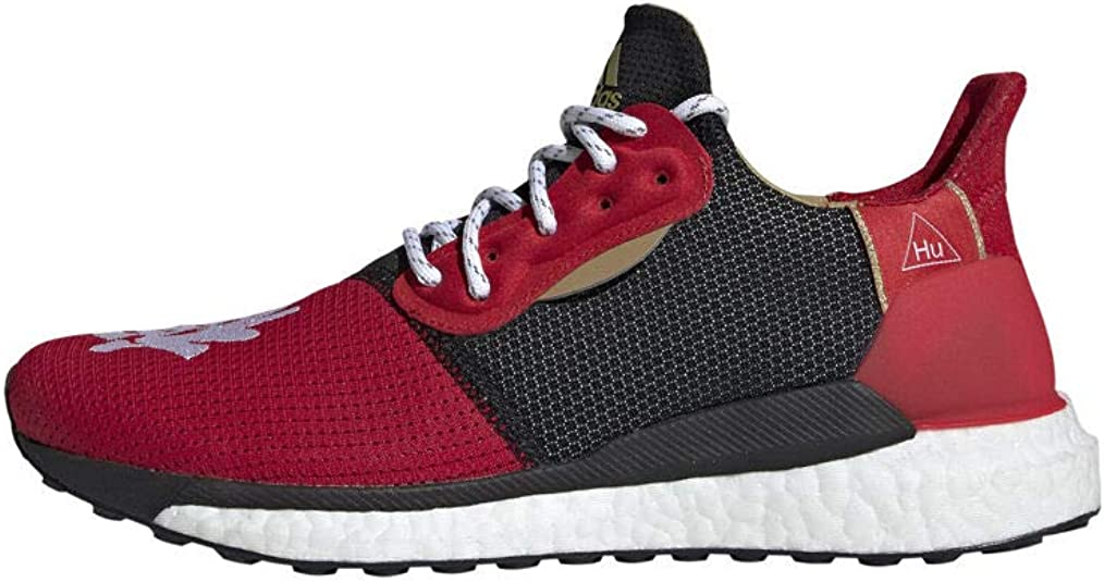 Esplendor Desventaja conveniencia  Amazon.com | adidas Mens CNY Solar Hu Glide x Pharrell Williams Running  Casual Shoes, | Fashion Sneakers