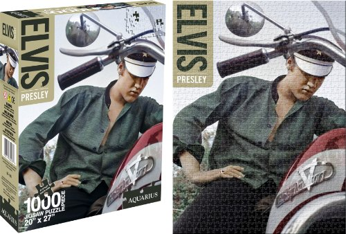 - Aquarius Elvis Bike 1000 Piece Jigsaw Puzzle