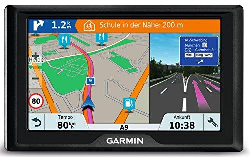 Garmin Drive 51 LMT-S CE Navigationsgerät – lebenslang Kartenupdates & Verkehrsinfos, Sicherheitspaket, 5 Zoll (12,7cm…