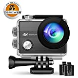 4K Action Camera By DBPOWER N5S 20MP WiFi Ultra HD EIS Sports Cam Deal (Small Image)