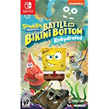 Spongebob SquarePants: Battle for Bikini Bottom - Rehydrated - Nintendo Switch - Standard Edition