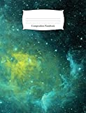 Composition Notebook: Green Space Galaxy Wide Ruled Notebook (School Office Supplies)