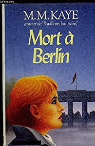 Paperback Mort à Berlin [French] Book