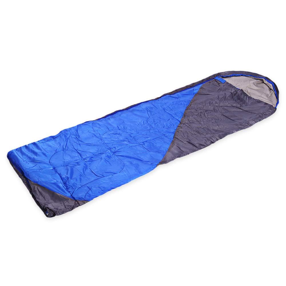 XIAOHE Schlafsack Ultimate Comfort Lightweight Large Waterproof Warm mit, Taschen- und Hohlbaumwolle, 4-Jahreszeiten-Outdoor-Campingrucksack im Freien, Wandern