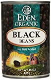 EDEN FOODS BEAN CAN BLACK NS ORG, 15 OZ, PK- 12