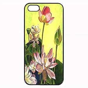 Citron Lotus Durable Unique Design Hard Back Case Cover For iPhone 4 4S