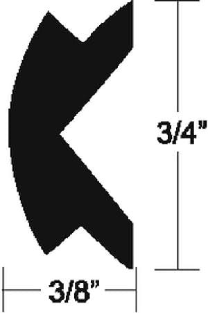 Amazon Com Taco Marine V12 4155bka50 1 Flexible Rub Rail Vinyl Insert 3 4 X 3 8 Automotive