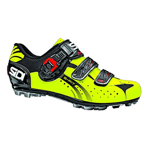 Sidi Zapatillas MTB Eagle 5-Fit Negro-Amarillo Fluorescent