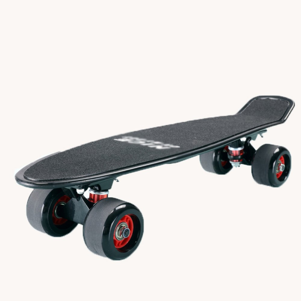 ZHH BXH small fish plate four-wheeled skateboard beginner adult children and adolescent scooter