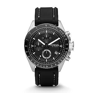 Fossil Decker Chronograph Black Dial Men's Watch – CH2573P