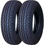 2 New Premium Grand Ride Trailer Tires ST 225/75R15 10PR LR E - 11017