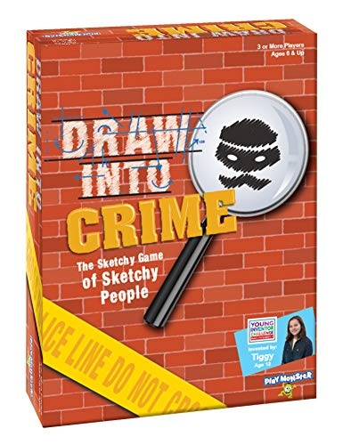 Draw Into Crime Game -- A Game Created for Kids, by A Kid!