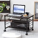 InnoFur Meleti Low-Type Table (Black) Multi-Utility Desk/Office/Study Table for Multipurpose Use