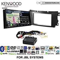 Volunteer Audio Kenwood Excelon DNX994S Double Din Radio Install Kit with GPS Navigation Apple CarPlay Android Auto Fits 2011-2012 Toyota Avalon with Amplified System