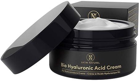 Satin Naturel Organic Hyaluronic Acid Cream II 100ml: Amazon.de: Beauty