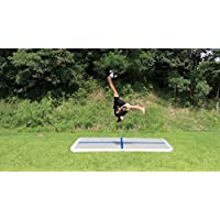 Garybank Airtrack Air Track Tumbling Mats for Gymnastics Inflatable GYM Mat Home Edition Air Floor 3.3'x 6.6' x 4