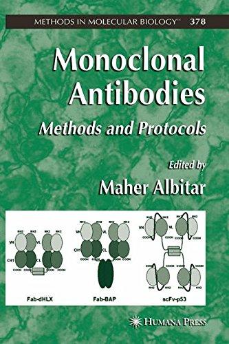 Monoclonal Antibodies  Methods And Protocols  Methods In Molecular Biology  Vol  378