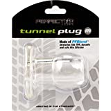 Top Rated - Perfect Fit Toy Tunnel Plug Med Ice Clear