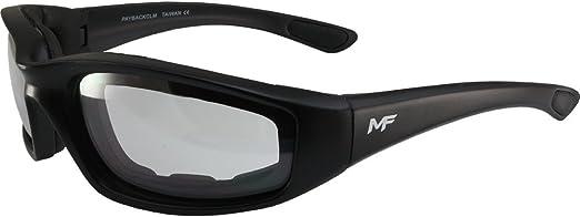 Black Frame//Super Dark Lens MF Payback Sunglasses