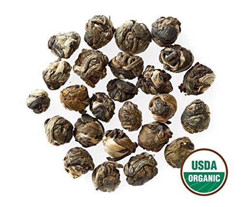 Jasmine Pearls Tea - Organic - Loose Leaf - Bulk - Non GM...