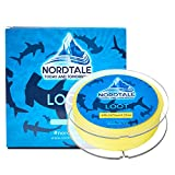 Nordtale Loot Braided Fishing Line 300yards 547yards – Improved Braided Fishing Lines – Abrasion Resistance – Zero Stretch – Thinner Diameter 6lb-80lb (Lemon Yellow, 40lb 327-Yard 0.33 mm) Review