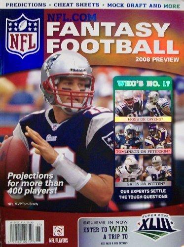 Jones Football Thomas Nfl (NFL.COM Fantasy Football (2008 Preview) (2008-05-04))