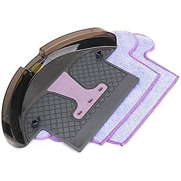 Moneual 8809141317211 Depósito de agua y 2 mopas microfibra robot aspirador híbrido: Amazon.es: Hogar