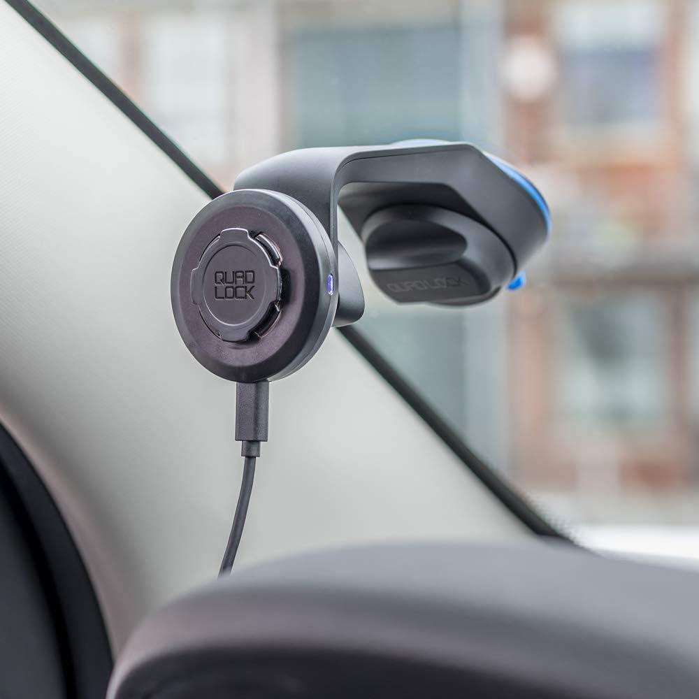 QUAD LOCK Ladekopf f/ür kabelloses Laden zur Benutzung mit der Auto-//Tischhalterung
