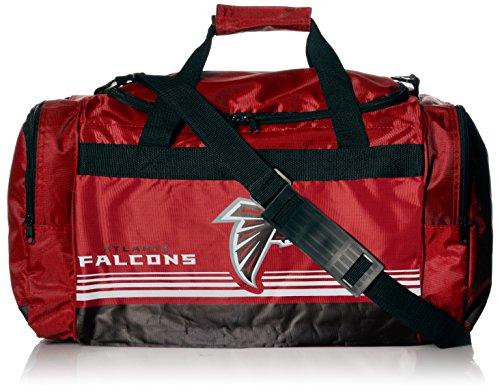 Atlanta Falcons Medium Striped Core Duffle Bag