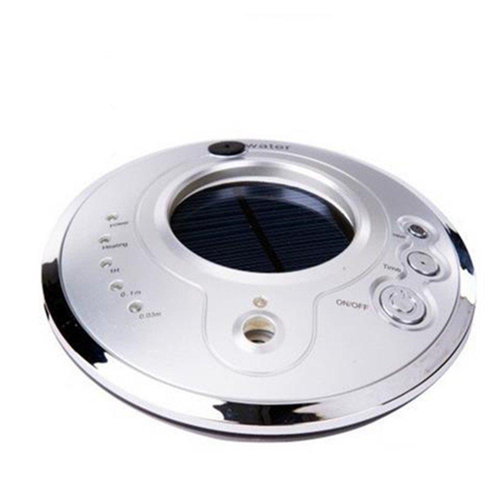 Auroraloveイオン空気清浄機Fresher USB車空気加湿器、ソーラーイオン加湿器、アロマセラピー車Essential Oil Diffuser、超音波車モードで調節可能なミスト加湿器 シルバー B01MYZY3ZM シルバー