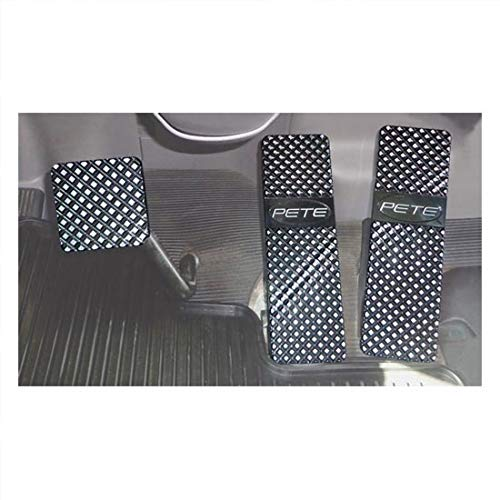 Aluminum Black Billet Foot Pedal Set fits Peterbilt